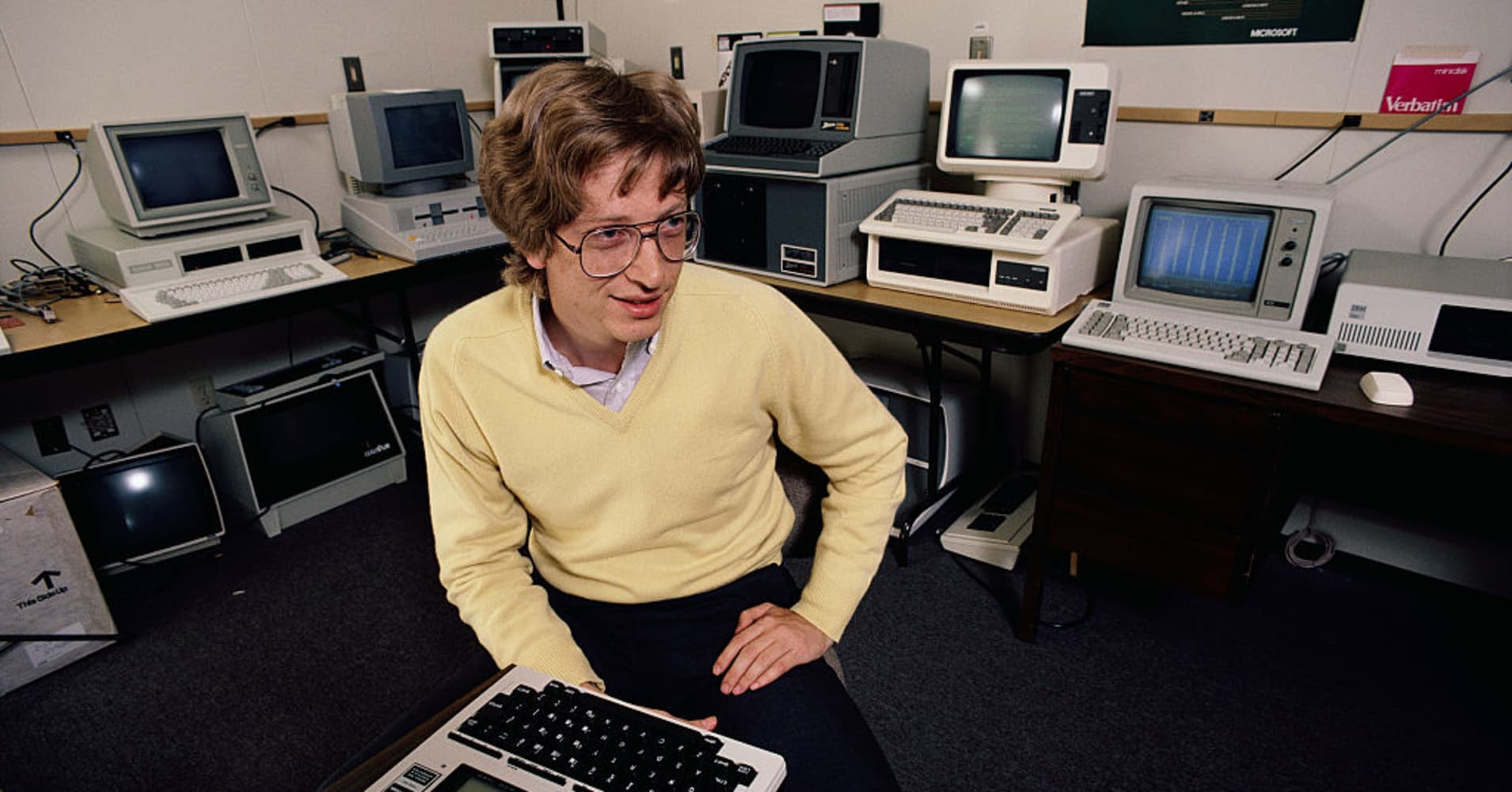 This is Bill Gates' resume from 1974—when he was making $15,000 a year