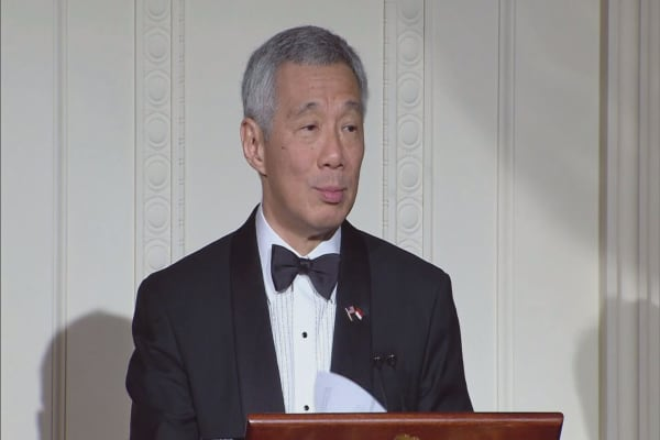 Singapore's leader is making some candid comments on its US relations
