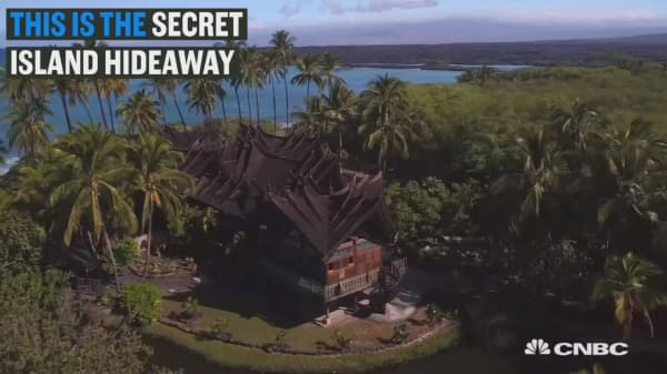 This secret island hideaway comes with opium beds & tons of dragon skin