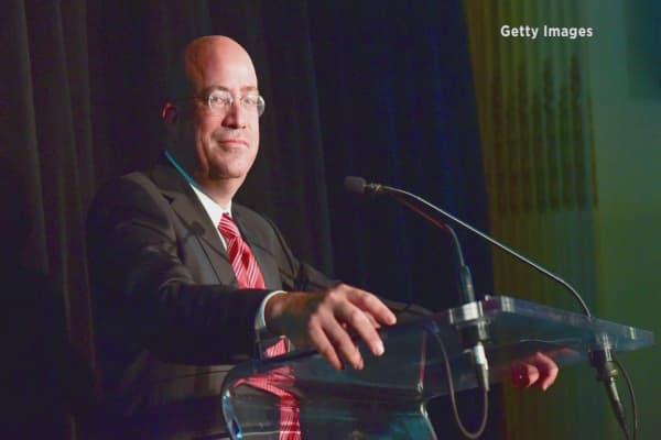 The head of CNN slams Congress over President Trump