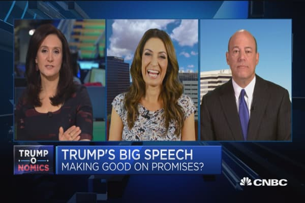 Trump's goal tonight is to give people confidence: Fleischer