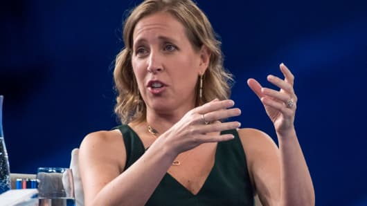 Susan Wojcicki, chief executive officer of YouTube.
