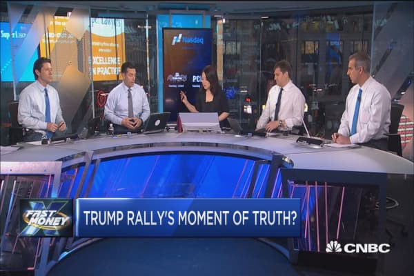 Trump rally's moment of truth?