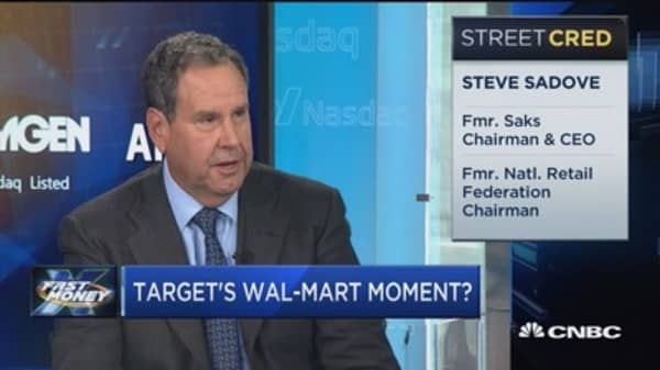 If Wal-Mart did it, Target can too: Sadove