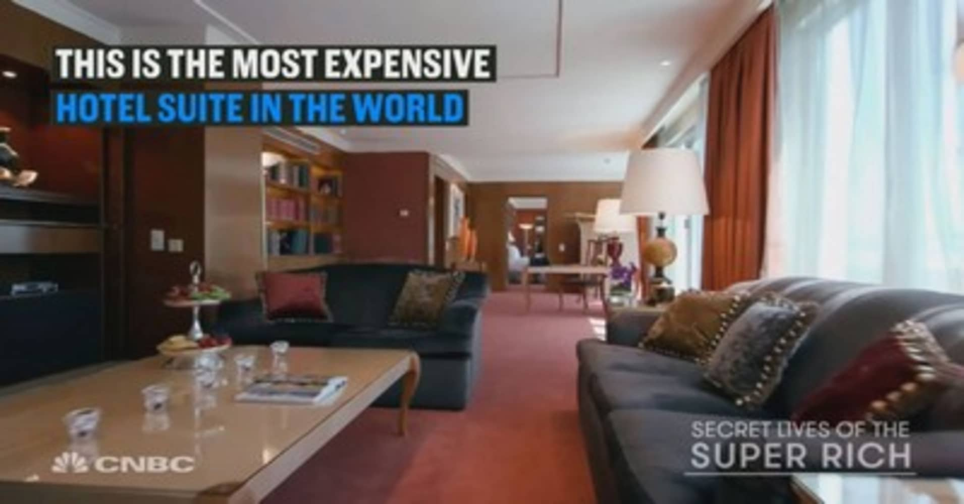 the most expensive hotel suite in the world