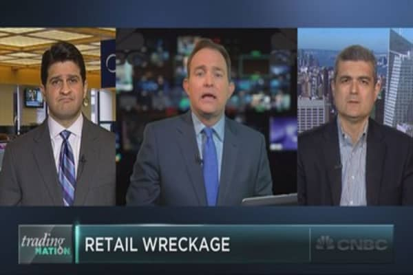 Retail tumbles, and the worst could still be ahead