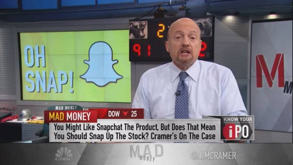 Cramer's Snap IPO playbook: How to make the most of a 'phenomenal trade'
