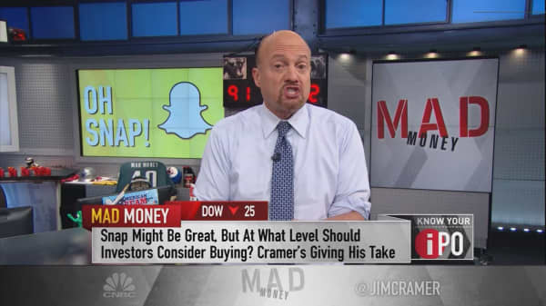 Cramer's IPO playbook for Snap
