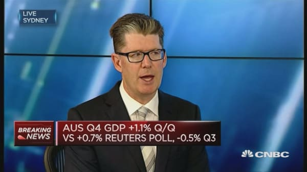 Strategist: Australia Q4 GDP looks good but...