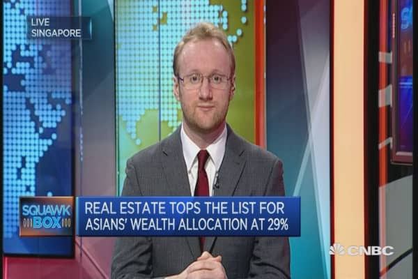 Asia's rich favor homes in UK, Singapore: Knight Frank