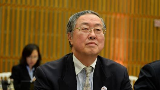 Zhou Xiaochuan.