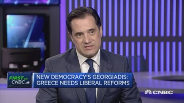 Grexit talk is over: New Democracy VP
