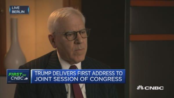 Believe Trump intends to keep promises: Rubenstein