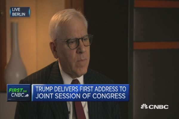 Believe Trump intends to keep promises: Rubenstein