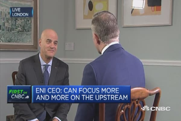 We will focus more on upstream: Eni CEO