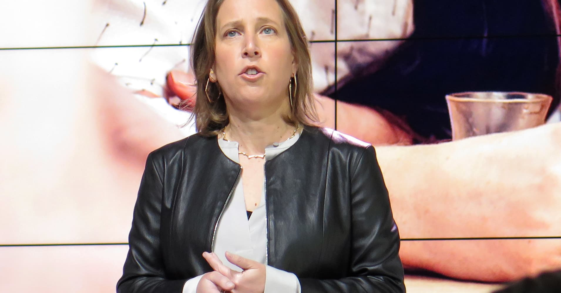 YouTube CEO Susan Wojcicki speaks at Lesbians Who Tech conference