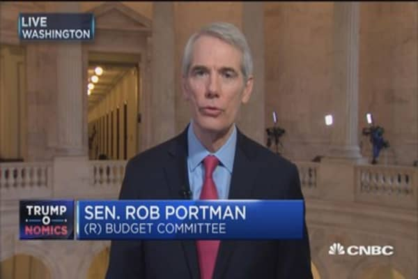 Sen. Portman: Can't get balance budget without focusing on all sides