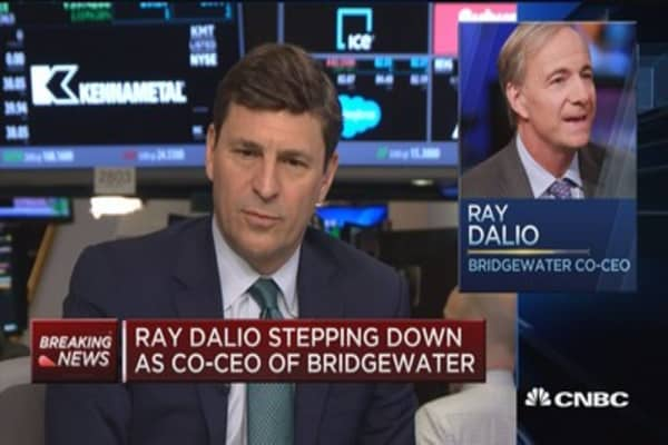 Ray Dalio stepping down as co-CEO of Bridgewater