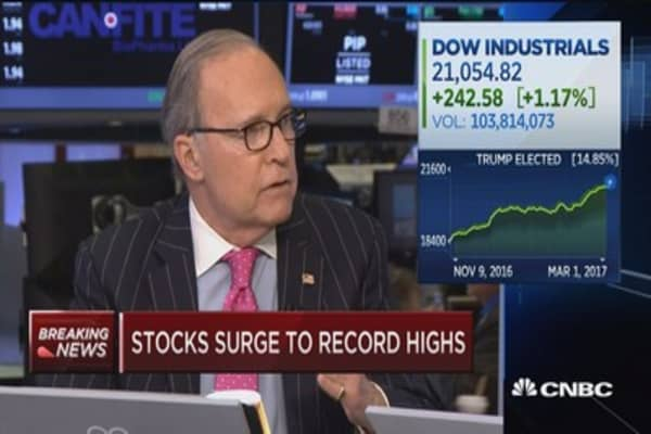 Kudlow: Trump speech the best he's done so far