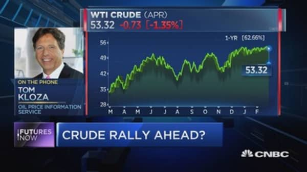 Here's how high oil can go: Tom Kloza