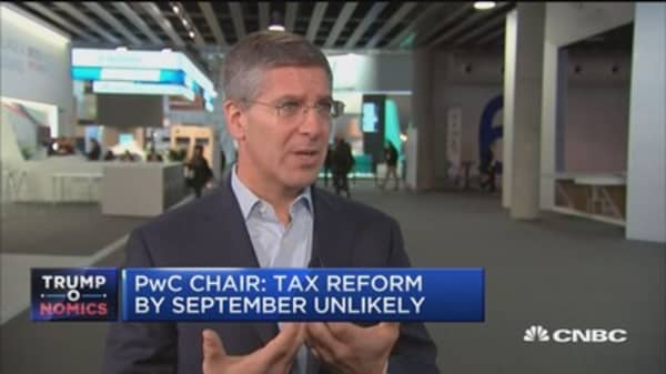 PwC Chair: Tax reform by September unlikely