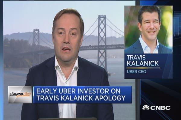 Travis Kalanick will be 'legendary' like Bill Gates, says Uber investor