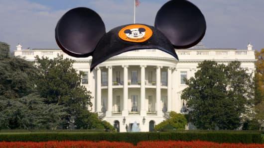 Mickey Mouse Disney White House