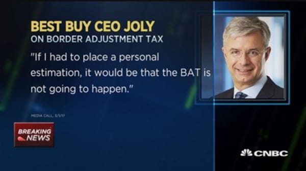 Best Buy CEO bets BAT won't happen