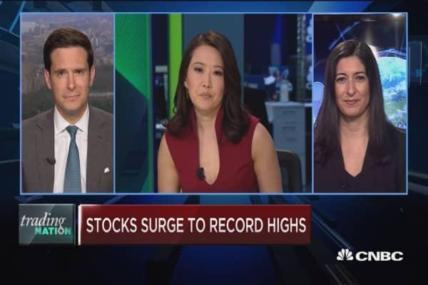 Trading Nation: Bank stocks surge