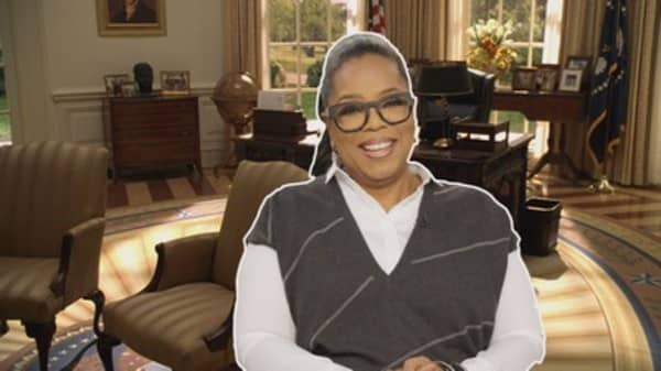 Oprah doesn't rule out running for president