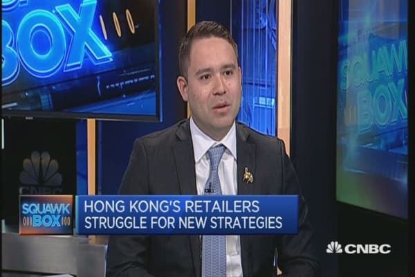 Navigating Hong Kong's luxury retail sector