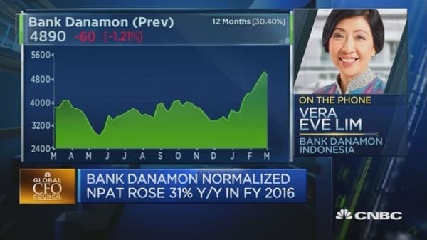 Autos, SMEs drove growth at Bank Danamon: CFO