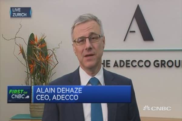 Very pleased with numbers: Adecco CEO