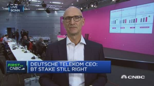 Deutsche Telekom CEO: Continue to invest in US business