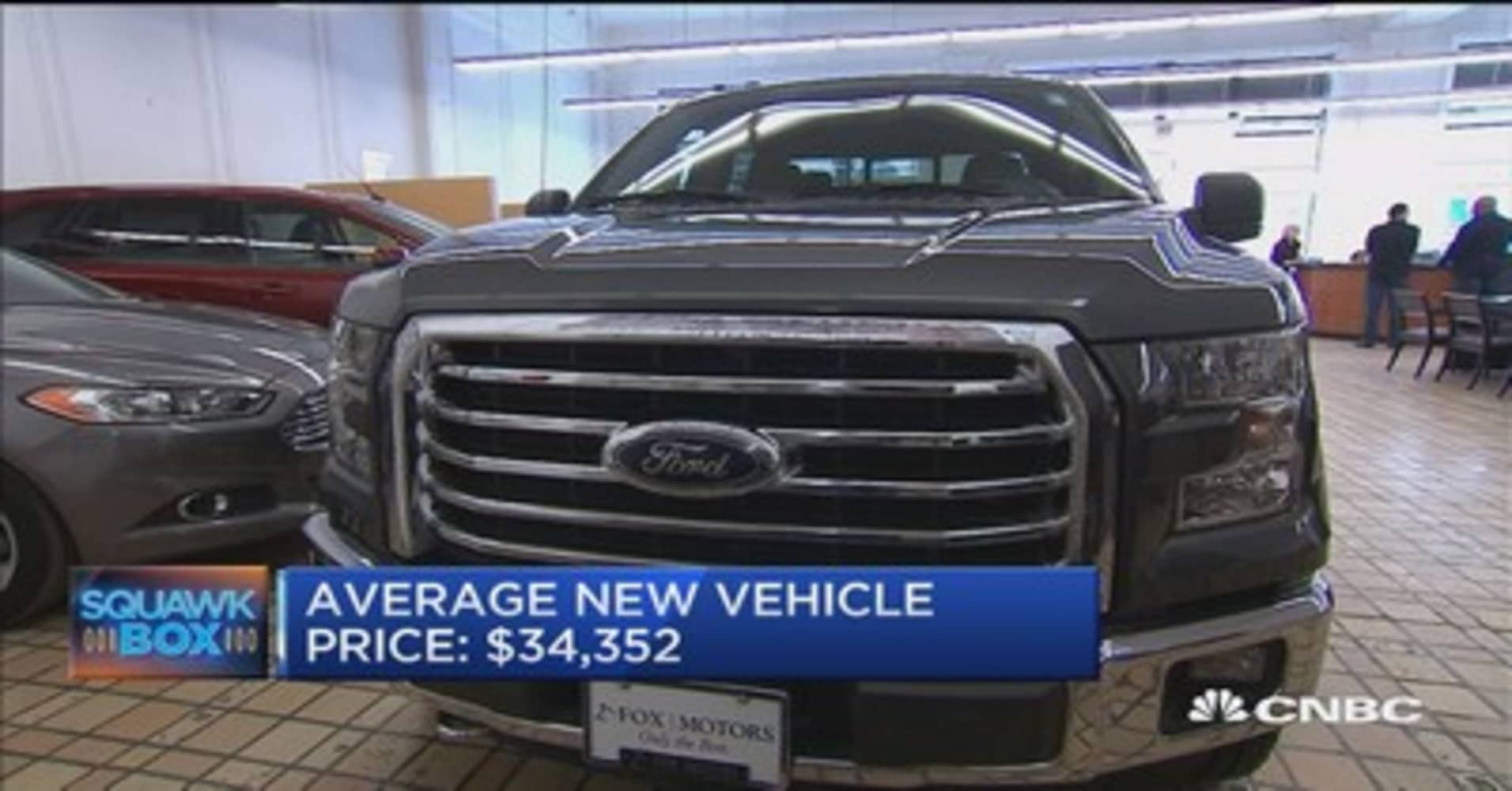Executive edge price gap widens between new and used cars