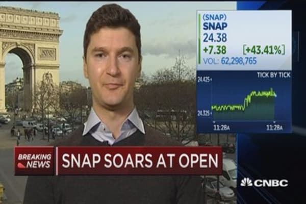 Early Snap Investor: Spiegel has the opportunity to be like Gates, Jobs