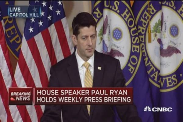 Ryan: We have no evidence Trump campaign was involved with the Russians