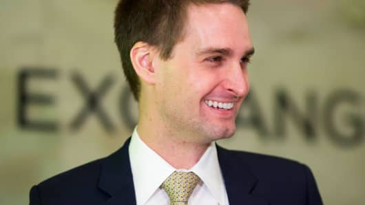 Snapchat CEO blames rival social networks for fake news