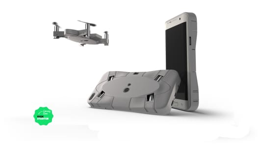 Selfly, a photo drone phone case.