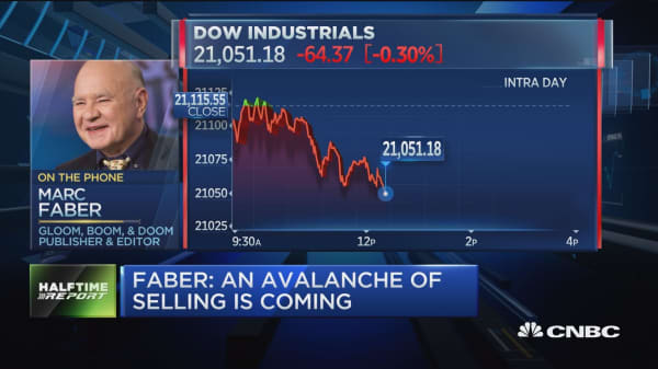 Faber: Underweight US stocks