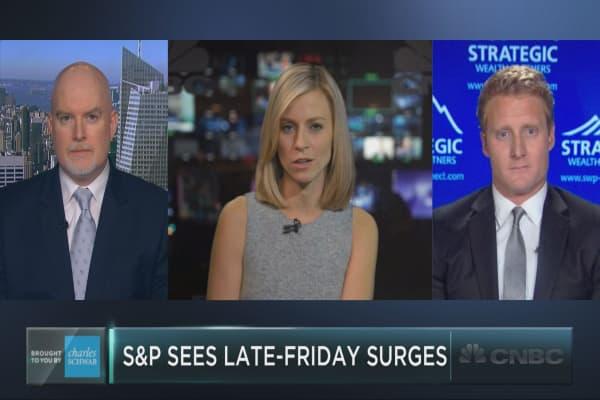 S&P 500's bullish Friday trend