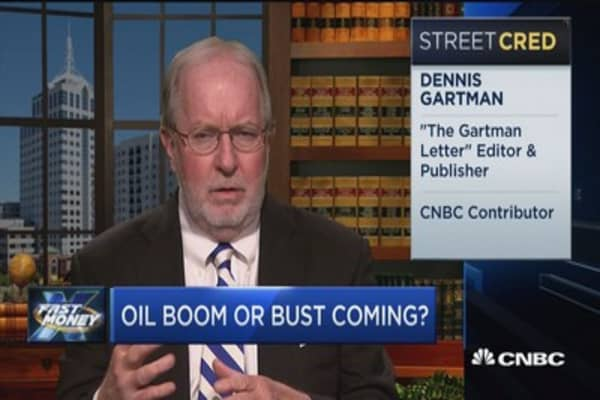 Gartman: XOM & COP are 'wonderful yield' stocks