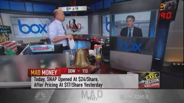 Box CEO Aaron Levie gives advice to Snap on how to navigate Wall Street