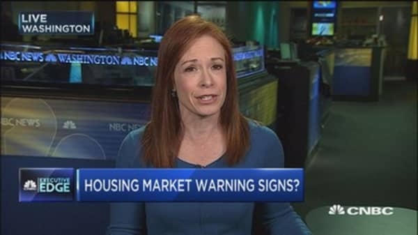 Warning signs flash as home prices rise and homeowners cash out equity