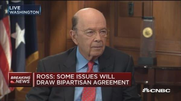Sec. Ross:Mexican peso has fallen on NAFTA fear