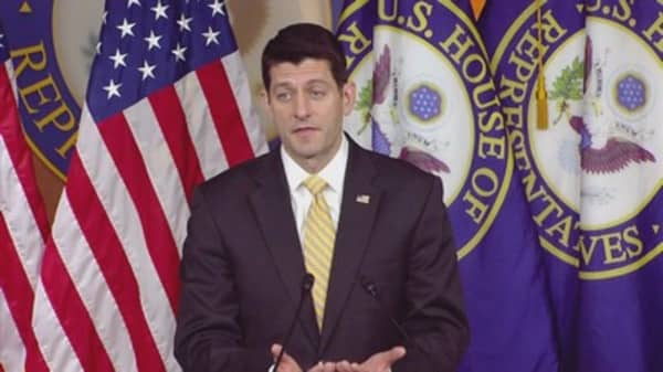 Some Rhode Island Protesters gave Paul Ryan a piece of their mind