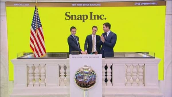 A high school got richer from Snap's big IPO