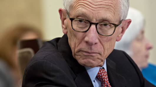 Stanley Fischer, vice chairman of the U.S. Federal Reserve