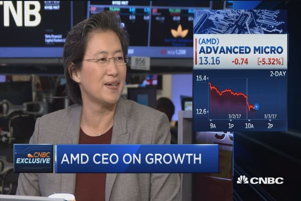 AMD wants to bring 'excitement' back to the desktop market, CEO says