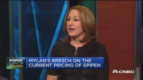 Mylan CEO: Fixed EpiPen, but system is broken